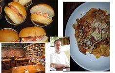 Seven Lamps' lobster roll; the interior of Seven Lamps; Chef/Owner Drew Van-Leuvan; Tagliatelle with Sapelo Island clams...Atlanta...via www.LuxeCrush.com
