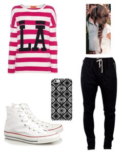 """""""MSG Rehearsals"""" by niallersgirls ❤ liked on Polyvore featuring Miss Goodlife, DRKSHDW, Converse and Uncommon"""