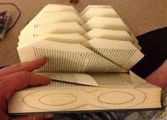 """Милые сердцу штучки: """"Новая жизнь ненужной книги или Book Folding Art """" (часть 1)"""
