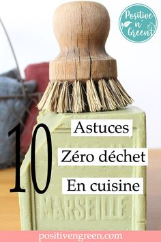 Here are 10 tips for zero waste in the kitchen. Prepare your jars, your Marseille soap and your DIY list: we go on a mission to become zero waste in the kitchen! Boy Diy Crafts, Diy Crafts For Adults, Diy Crafts Videos, Sell Diy, Diy Crafts To Sell, House Cleaning Tips, Cleaning Hacks, Zero Waste Home, Planet Crafts
