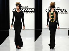 Mondo's 'Jamaica' inspired contributiong for project runway. LOVE the simplicity and lines. Jamaica Flag, Peplum Dress, Dress Up, Modern Style Homes, Smiles And Laughs, Project Runway, African Dress, Nice Dresses, Fashion Outfits