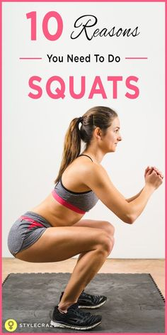 10 Reasons You Need To Do Squats