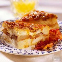 You know how great bread pudding is for dessert. But this bread pudding, with its combination of French toast and caramel rolls, deserves a special invite to your breakfast or brunch.