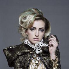 Model:amy luijten Hair:glenn cox Stylist: patrick franciscus Foto: petra holland Make up : niels jansen