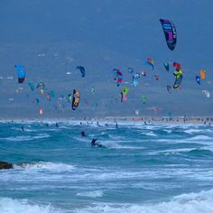 From kleinplanet311#tarifa #balneario #cadiz #spain #playa #beach #beachlife #sea #ocean #mar #atlantic #wave #waves #surf #surfer #surfing #kitesurfing #kitesurf #kiteboarding  #outdoor #nature #wanderlust #travel #travelbug #surfphotography #travelphotography #kitesurfing #kiteboarding #kitesurf #kiteboard