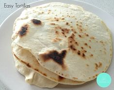 Easy Tortillas. Thermobliss. Peters recipe