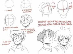 Resplendent Cartoon Drawing Tips Ideas Drawing Reference Poses, Design Reference, Drawing Techniques, Drawing Tips, Drawing Expressions, Drawing Base, Drawing Practice, Character Drawing, Art Tips