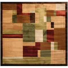 square area rug220426 at the home depot