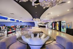 Orchid Bowl bowling centre by Kyoob-id, Singapore » Retail Design Blog