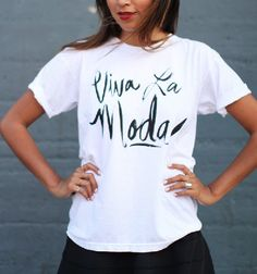 Sincerly, Jules | Viva La Moda! Tee