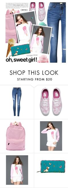 """""""Sweet Girl"""" by metisu-fashion ❤ liked on Polyvore featuring Vans, polyvoreeditorial, polyvoreset and metisu"""
