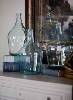 6 unique ways to use bottles in #decor. Great ideas!