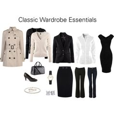 "Deep Winter ""Classic Wardrobe Essentials"" by katestevens on Polyvore"