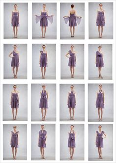 Jenny Yoo collection...same color dress but let each bridesmaid pick her own style so she feels comfortable