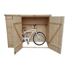 m lltonnenboxen fahrradgarage aus metall biohort abstellbox pinterest fahrradgarage. Black Bedroom Furniture Sets. Home Design Ideas