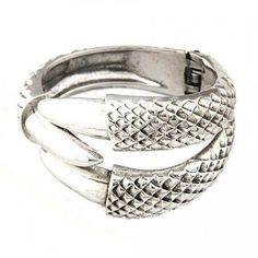 Crunchy Fashion Funky Silver Claw Bangle!  #bangle
