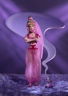 I Dream of Jeannie- Barbie OMG OMG 2 fav things in 1!! all it needs is a disney touch!
