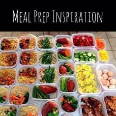 Sunday meal prep inspiration  It may look like a lot of work but if you can dedicate just one day out of your week to prepare chop or precook your foods and have them all ready for the week your chances of success towards eating right will be achievable.  #mealprep#inspire#motivation#food#mealprepsunday#cooking#healthliving#healthy#eatright#eatclean#cleaneating#fitfam#fitmoms#carbs#protein#organic#fitfuel#preworkout#postworkout#instagood#holisticnutrition#nutritioncoach#vanfitfam#gymlife by…
