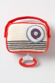 Crocheted Music Box Radio - Anthropologie.com