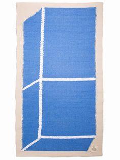 Teppich Gur Kunst von Aaron Gillett von RUGbyGUR auf Etsy
