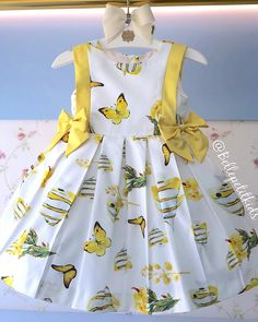 Kids Summer Dresses, Baby Girl Party Dresses, Dresses Kids Girl, Kids Outfits, Baby Girl Dress Patterns, Baby Dress Design, Stylish Dress Designs, Kids Blouse Designs, Kids Frocks Design