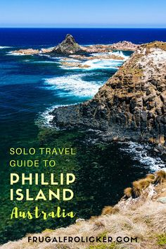 Phillip Island solo travel guide. #travel #australia #beach #phillipisland / / / / / Check out more travel photos and blog posts on my travel blog, frugalfrolicker.com