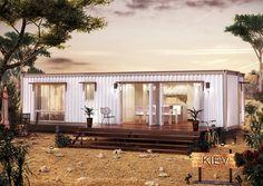 Prefab Container Home - The KIEV - OUTBACK THEME by NovaDeko, via Flickr