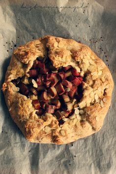 bistro mama: Galette z rabarbarem Pie, Cook, Desserts, Recipes, Torte, Tailgate Desserts, Cake, Deserts, Fruit Cakes