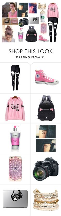 """When love is real, it will find a way."" by jblover-1fan on Polyvore featuring WithChic, Victoria's Secret, Eos and Panacea"