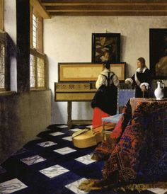 Johannes Vermeer: The Music Lesson, 1662-65
