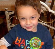 That fresh beautiful face...Dean turns 3 !!!