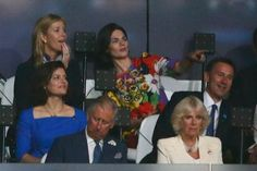 Charles and Camilla, along with other members of the Royal Family, attend the 2012 Olympics Opening Ceremony Paralympic Athletes, Olympics Opening Ceremony, Team Gb, Olympians, Olympic Games, Great Britain, Newlyweds, New Woman, Camilla