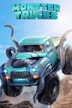 MONSTER TRUCKS - New Poster! [[MORE]]Looking for any way to get away from the life and town he was born into, Tripp (Lucas Till), a high school senior, builds a Monster Truck from bits and pieces of. Lucas Till, Cartoon Movies, Hd Movies, Movies To Watch, Movies Online, 2017 Movies, Film Watch, Blockbuster Movies, Movies Free