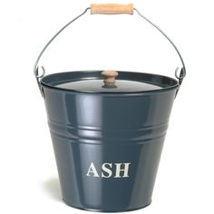 Keep your barbecue experience a smart one with the Garden Trading Ash Bucket - Slate - £24 from Amara.