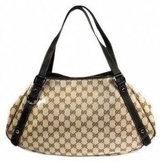 d5700a64d953 Gucci Abbey Crystal Gg Logo Print Hobo Bag  769  Guccihandbags