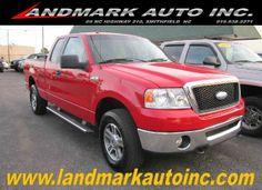 2007 #Ford #F150 XLT #SuperCab Short Box 4WD - Smithfield NC   #landmarkautoinc    landmarkautoinc.com    landmarkautoinc.org