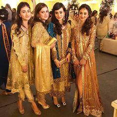 These ladies look absolutely stunning at the #maryamandAT #baraat . . . #bridal #bride #desibride #indianbride #pakistanibride #pakistan #indian #muslimwedding  #desifashion #desi #desibridal #weddinginspiration #dulhan #shaadi #indianwedding #desiwedding #weddingdiaries #weddingphotography #pakistanifashion #desicouture #pakistani #indianfashion #lengha #asianbride #asianbridal #asianbrides  #mehndinight