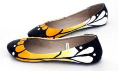 Baleriny-motylki/ Butterflies shoes