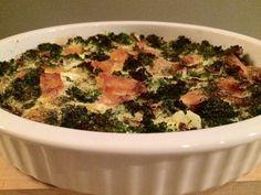 Frittata met zalm en broccoli