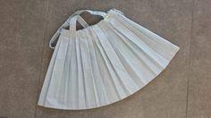 vintage rok skirt uit the sixties toddler meisje plooienrok terlenka new old plissee door Smufje op Etsy