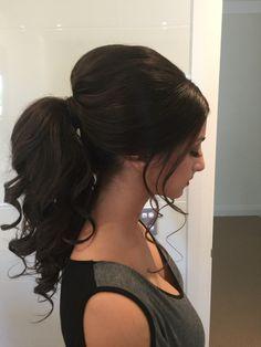 Ponytail formal hair