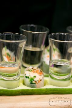 Spring Rolls with Sake by D'Amico Catering, via Flickr