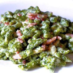 Spatzle agli spinaci - Ricette Bimby