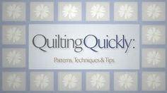 fast quilting technics - Recherche Google
