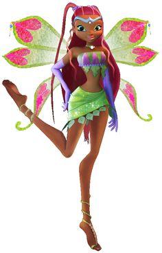 """Winx club Aisha """"enchantix"""" 3D"""