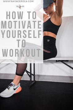 Want to workout but, need a little help? I made a guide to help you set your fitness goals and get the motivation you need to start working out Beginner Workout At Home, Workout For Beginners, At Home Workouts, You Fitness, Fitness Goals, Start Working Out, Motivate Yourself, How To Stay Motivated, Motivation