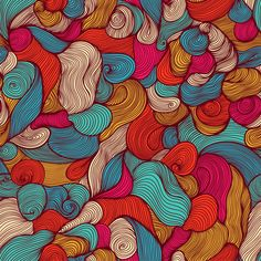the power of waves by Pridumala , via Behance