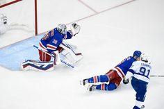 Henrik Lundqvist robs Steven Stamkos with pad save