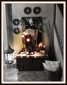 Little Brags: Last Minute Halloween Decor
