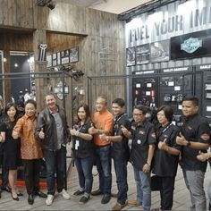 Harley-Davidson motorcycle manufacturer, participated in the 2017 GIIAS automotive show. Harley-Davidson also introduced the latest series of ...